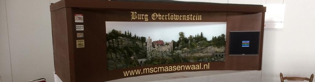 Modelspoorbaan Burg Oberlöwenstein overzichtsfoto