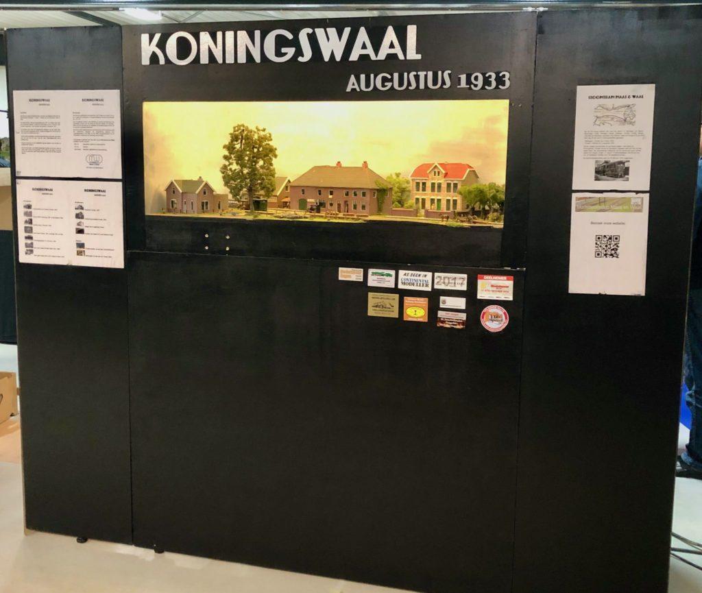 MBV De Wissel - Open Weekend 18 en 19 januari 2020 - Modelspoorbaan Koningswaal van onze club.
