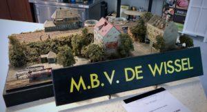 MBV De Wissel - Open Weekend 18 en 19 januari 2020 - Een mooie diorama als welkom bij de MBV De Wissel.
