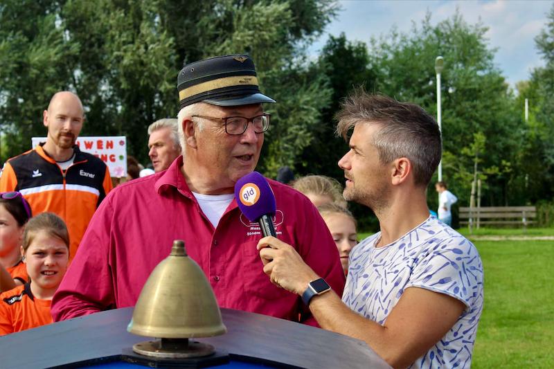 Zomer in Gelderland - Interview van lid van de Modelspoorclub Maas en Waal - detail.