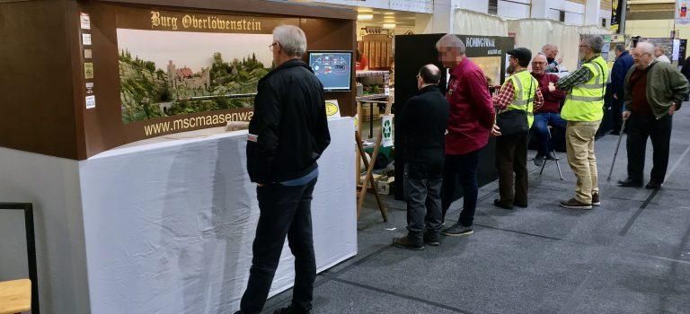 The Chiltern Model Railway Exhibition 2019 - Modelspoorclub Maas en Waal - Modelspoorbanen en publiek (04).