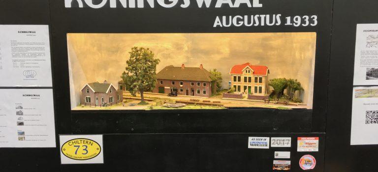 The Chiltern Model Railway Exhibition 2019 - Modelspoorclub Maas en Waal - Koningswaal - Standnummer 73.