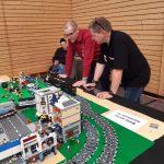 Modelspoorbaan van Lego beurs Urbar.