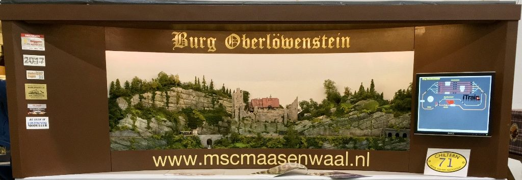 Modelspoorbaan Burg Oberlöwenstein