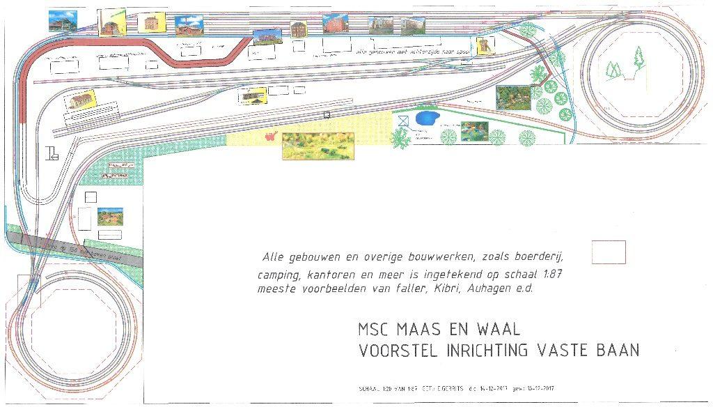 modelspoorbaan aangepast ontwerp van Die Dülperbahn