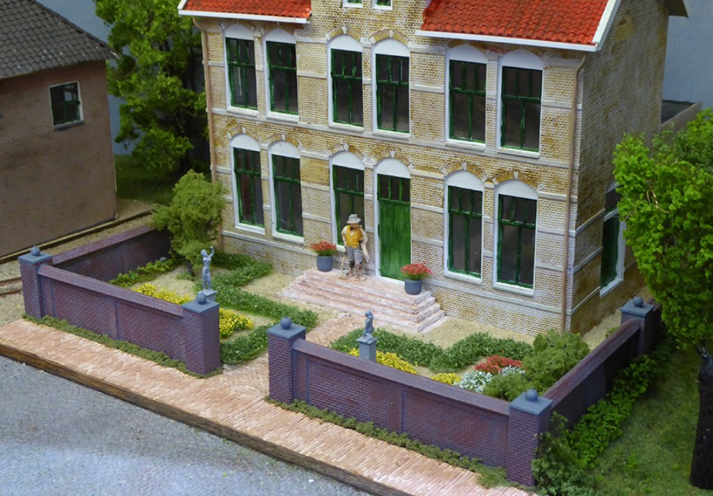 modelspoorbaan Koningswaal Huis van de Notaris