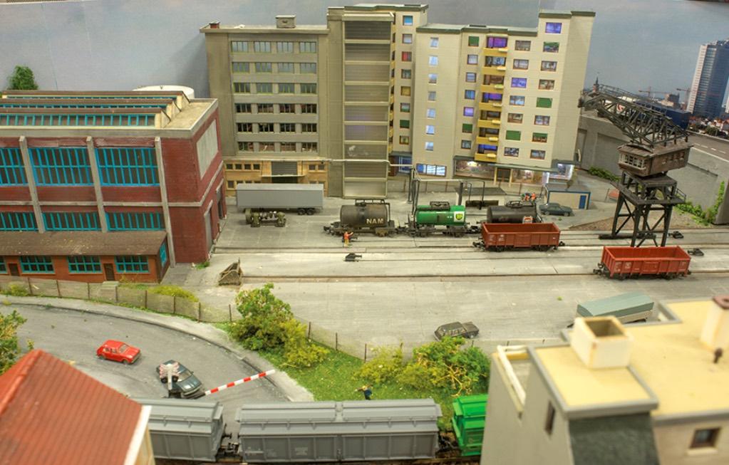 modelspoorbaan Kringloop Emplacement Flats
