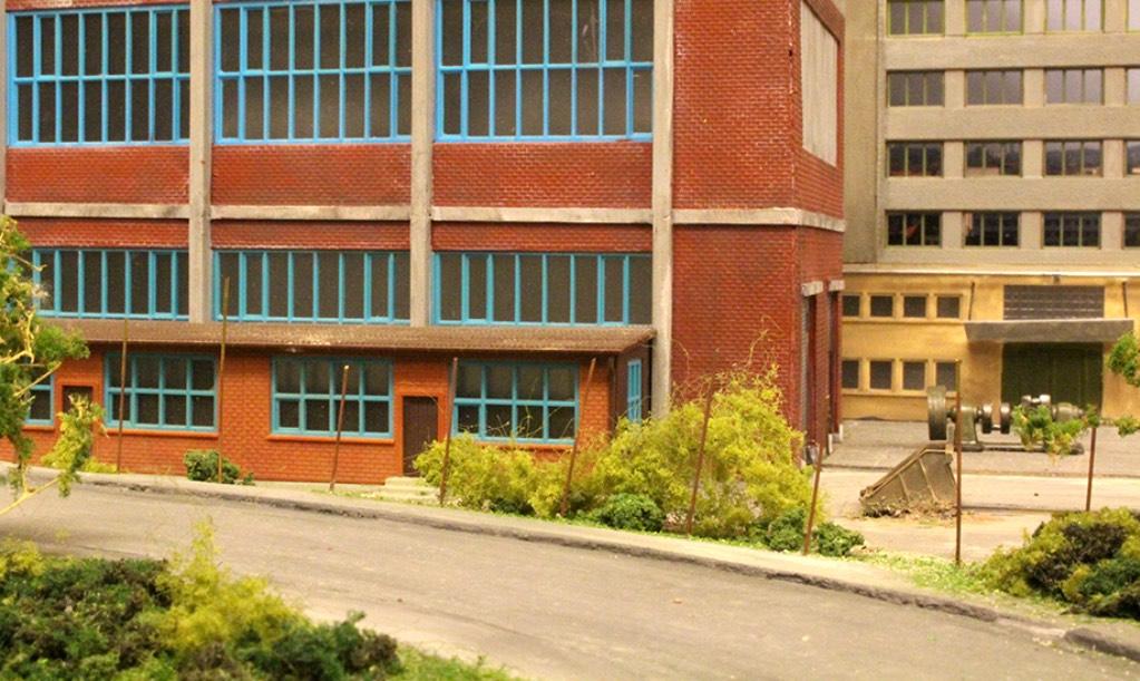 modelspoorbaan Kringloop Fabriekshal