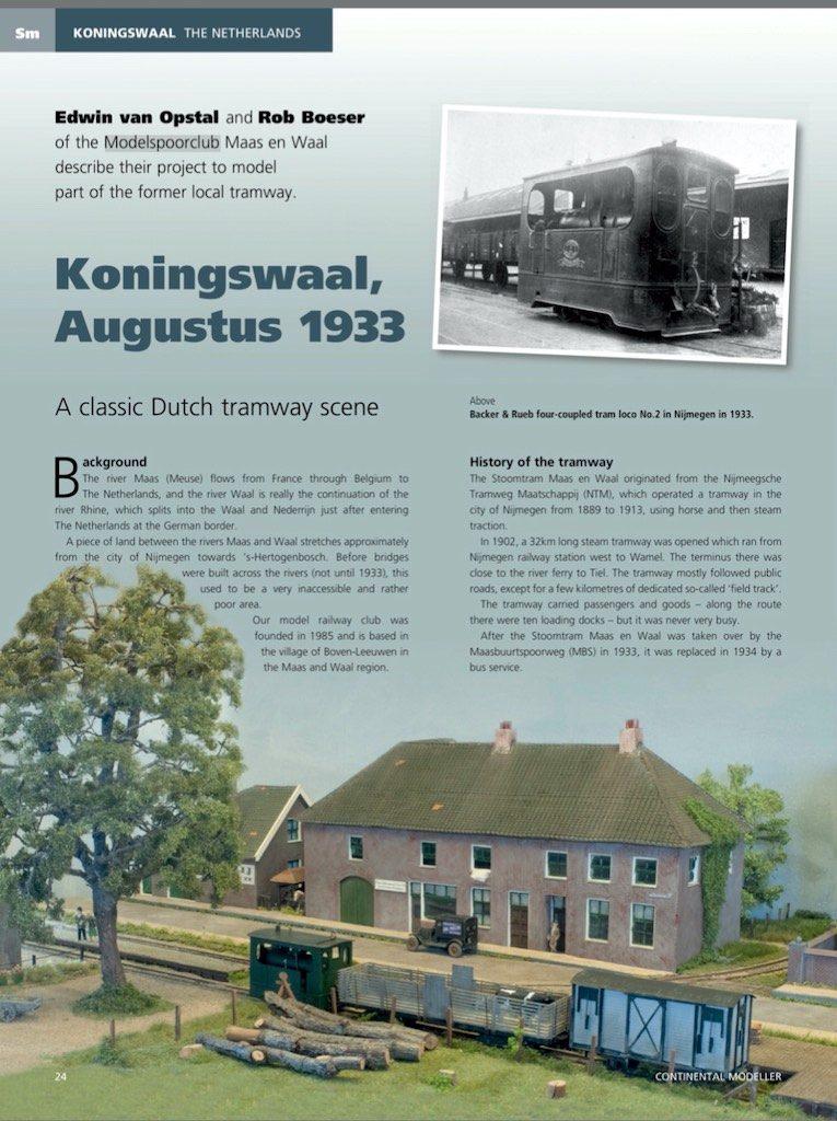 Continental Modeller 2019-01 MSCMW Koningswaal pag2