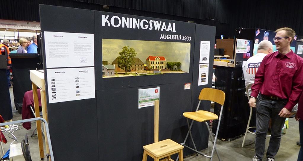 Expo Leuven 20161015 Koningswaal 01, modelspoorclub Maas en Waal