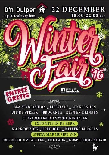 Winterfair 20161222 dn Dulper Poster
