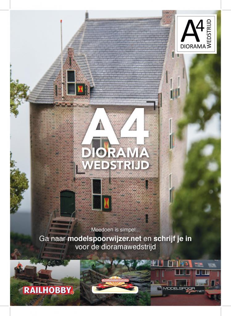 A4 Dioramawedstrijd 2019 - Flyer