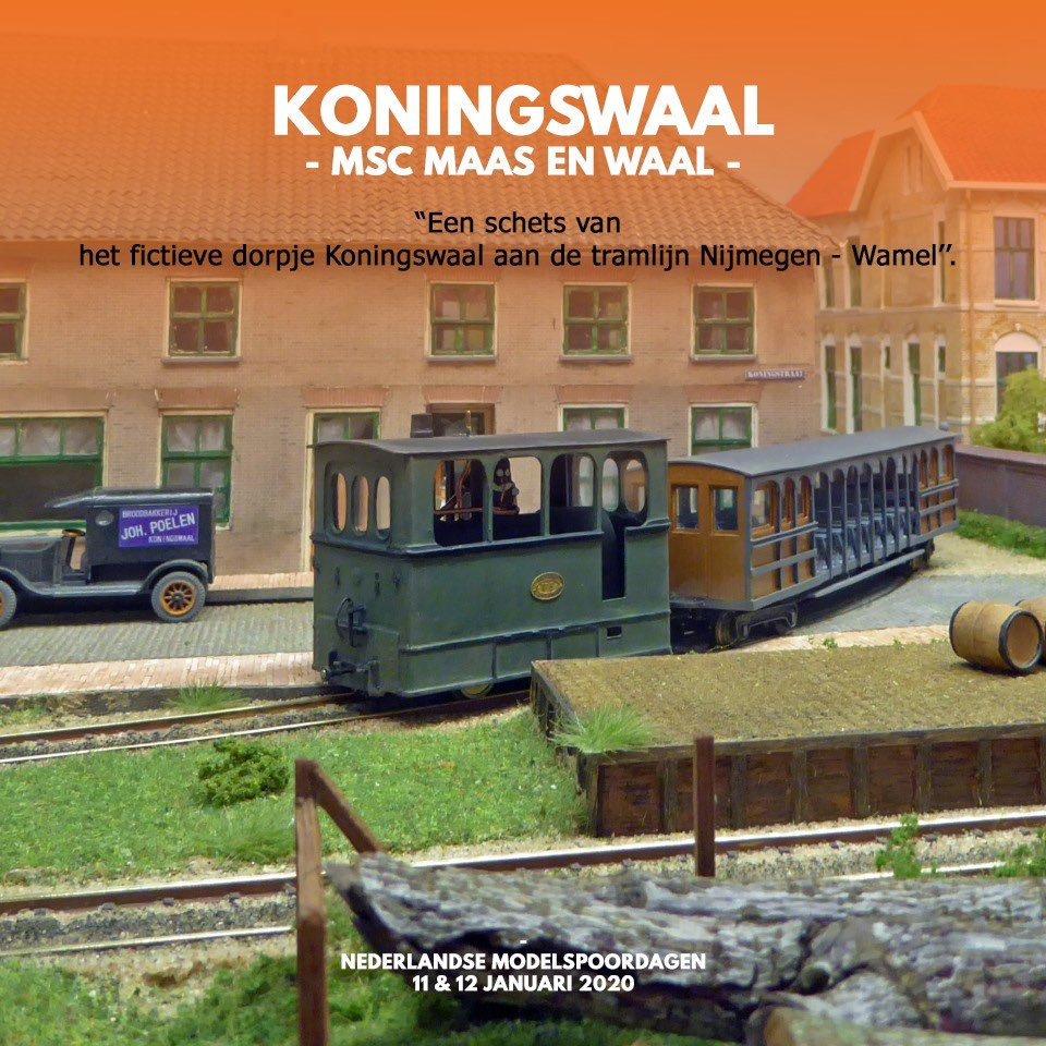 Koningswaal-NL-Modelspoordagen-2020-aankondiging