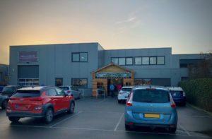 MBV De Wissel - Open Weekend 18 en 19 januari 2020 - De Foodloods te Oss, het tijdelijke onderkomen van MBV De Wissel.