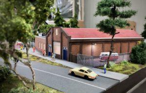 MBV De Wissel - Open Weekend 18 en 19 januari 2020 - Diorama van de voormalige Unox-winkel te Oss.